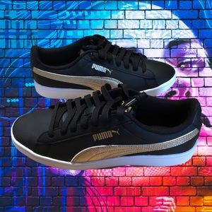 PUMA Vikky v2 Metallic Women's Sneakers Size  8.5